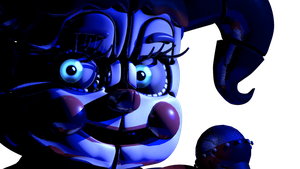 Circus Baby light Test by Maximorra