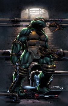 TMNT Mikey by spidey0318