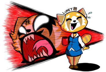 The Angriest Panda by Luney-Lunic