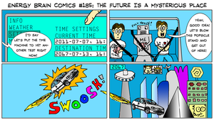 EBC #185: The Future Is A Mysterious Place by EnergyBrainComics