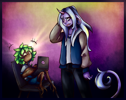 Lav and Trevor Astrology 2 W 2018 by Ferret-X