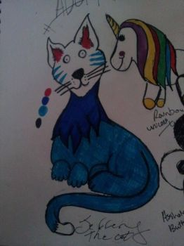 Jeffery the Cat (SOLD Adopt by zombiedragonqueen14