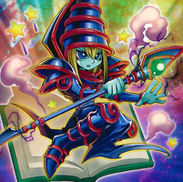 Toon Dark Magician by Youssef-Mamdouh