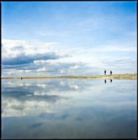 mirroring the blue by quadratiges