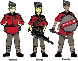 IRS OSCR Watchmen Corps by Target21