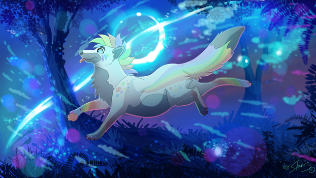 A Magical World Of Rain by StanHoneyThief