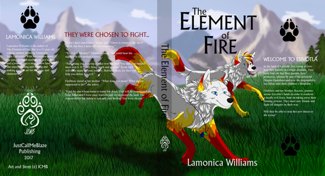 Element of Fire Cover by LamoniWolf