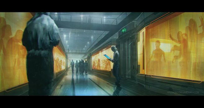 The Market corridor by AnthonyDevine