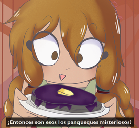 |x|so,these are the mysterious Pancakes? GIF|x| by SpeedDraw11
