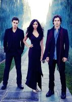 the vampire diaries by iamdreaming