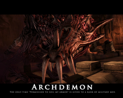 DAO Archdemon Motivational BG by FullElven