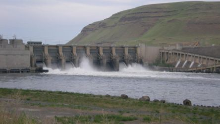 Dam on the Snake River. by Rubys-Designs-Stock