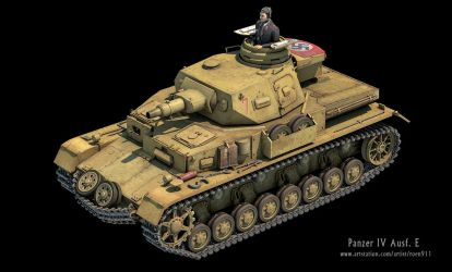 Panzer IV Ausf. E by rOEN911