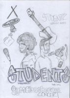 Students meet GymClassHeroes by DeviantBoss