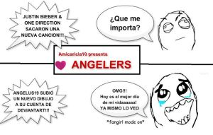 WE ARE ANGELERS XDD by HiHereAmI