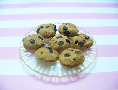 Chocolate Chip Cookies by DeadlyDagon