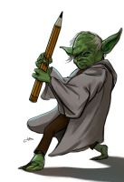Yoda sketch by gordo258