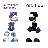 RO and RL - Raymenis and DarkRay by SticcatheStickGod