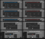 Numix Dark Blue and Red Theme Win10 April 1803 by Cleodesktop