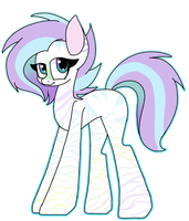 Pastel Zebra Adopt Closed by SpaazleDazzle