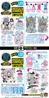 How to draw COMPOSITION tutorial by STUDIOBLINKTWICE