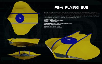 FS-1 Flying Sub ortho [update] by unusualsuspex