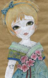 Blonde Doll by NatashaHutton