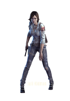 The Evil Within Juli Kidman Render by The-Blacklisted