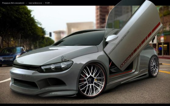 VIRTUAL TUNING  vw scirocco by peppus84