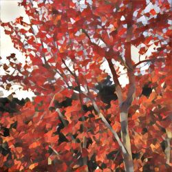 A Fiery Tree Dying by bgiffo