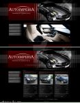 Website layout - Cars by HiddenIce