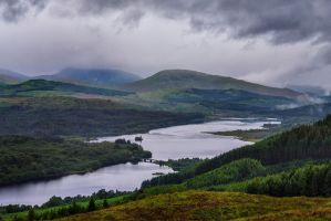 Scottish Highlands by davidsant