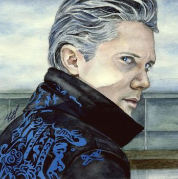 Philippe Lauby as Vergil by KseniaParetsky