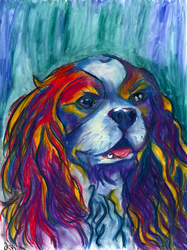 King Charles Spaniel (Top 15 dog breeds) by JulieRaven