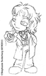 Commission: Eighth Doctor by LuLuLunaBuna