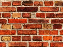 the very flat brick wall by like-a-texture