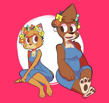 Lily and Petunia by RustyDooks