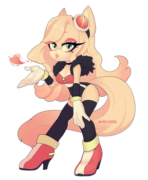 Peach by Maikyodel