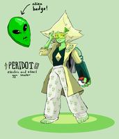 Steven Universe and Pokemon Crossover - Peridot