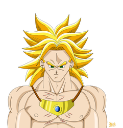 Broly new by MarcBruil
