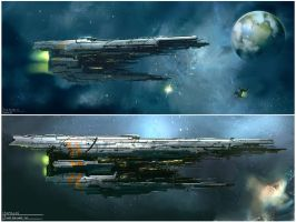 EVE online_Samalah_WIP by David-Holland