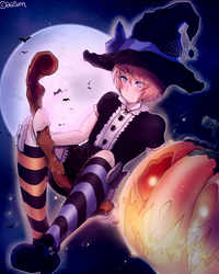 Halloween Contest -- Usu-kun by a6lum