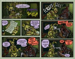FNAF - Fanmail with Springrap Comic 01 - 8-17-15 by Mattartist25