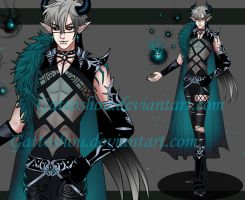 DEMON ADOPT 168 [Auction] [CLOSED] by GattoAdopts