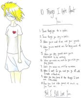 10 things I hate about you by DeathsVampire