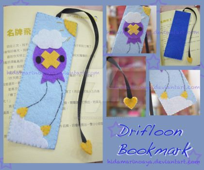 Drifloon Bookmark by HidamariNoAya