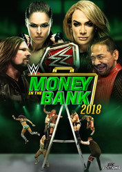 WWE Money in the Bank 2018 - Cover Poster. by Erick11Editions