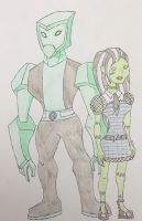 Frankie S. and Tourma - We Are Monsters #1 by Fanficwriter1