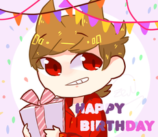 happy birthday for tord by Only091