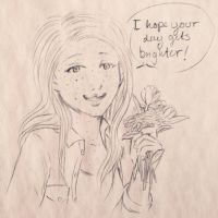 Some Flowers for You by Pirategirl28